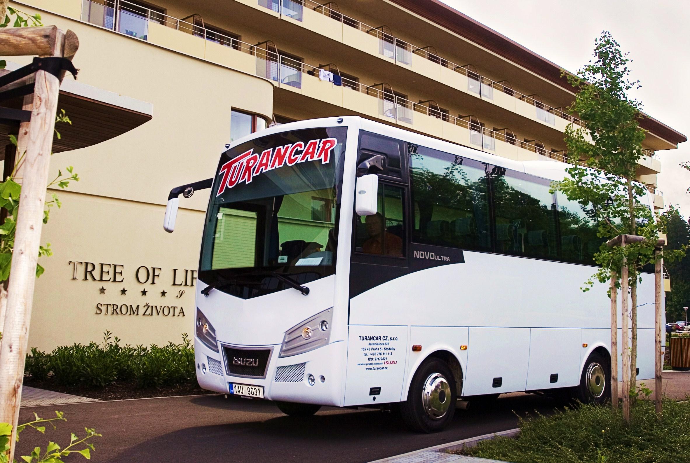 NOVO další nový autobus ISUZU na evropském trhu