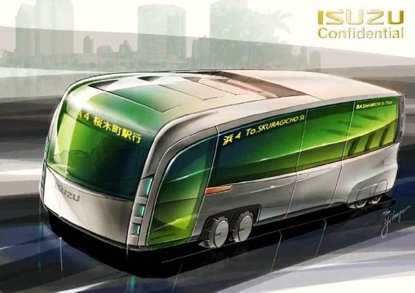 Elektrobusy ISUZU již letos ve zkušebním provozu