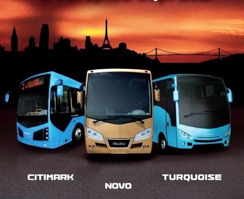 Veřejné bezplatné testování všech modelů autobusů ISUZU