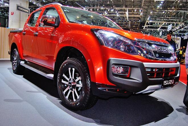 Pickup ISUZU D – MAX na autosalonu v Ženevě