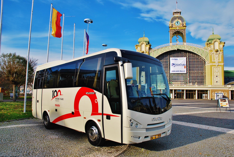 Kompletní nabídka autobusů ISUZU na veletrhu BUS SHOW 2018