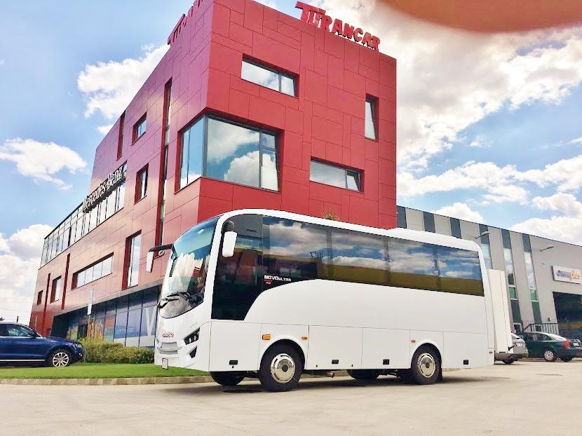 Autobus ISUZU pro významného zákazníka Divadlo Andreja Bagara v Nitře