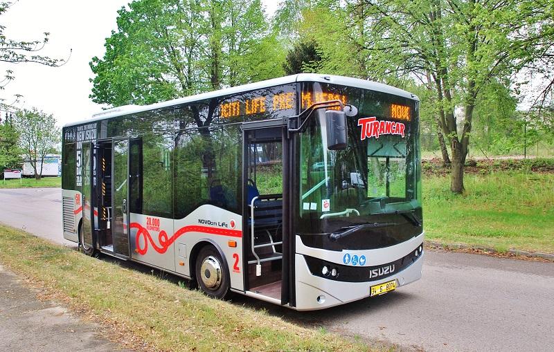 ISUZU NOVOCITI Life – originální řešení městského midibusu