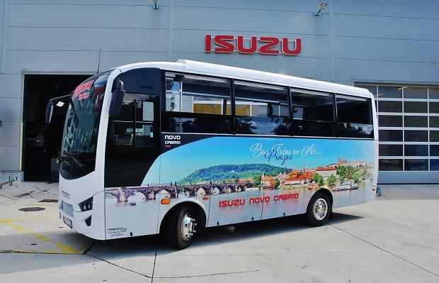 ANADOLU ISUZU: zveme vás na veletrh Busworld Europe 2019