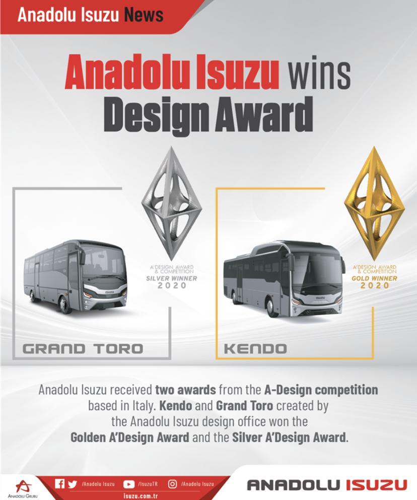 Anadolu Isuzu Wins Design Avard