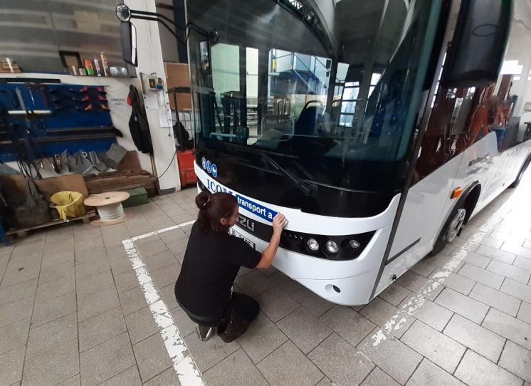 ISUZU NovoCiti Life pro ICOM transport