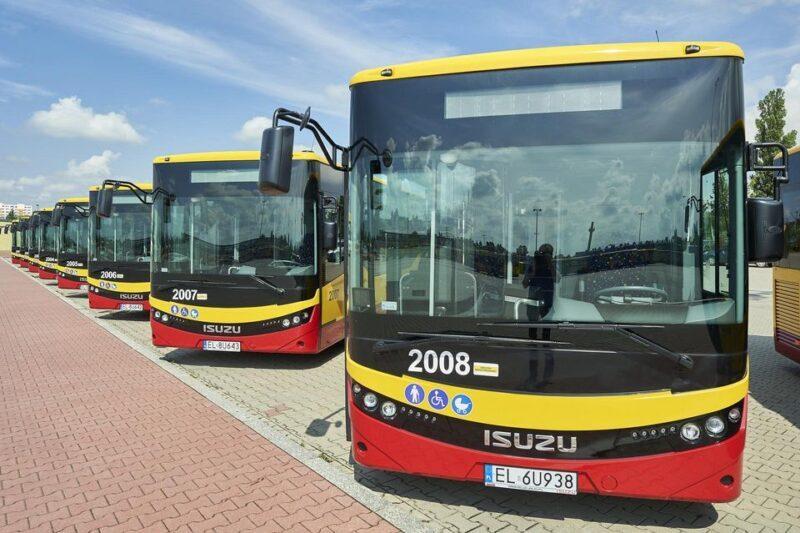 Další nové městské autobusy ISUZU NovoCiti Life v Lodži