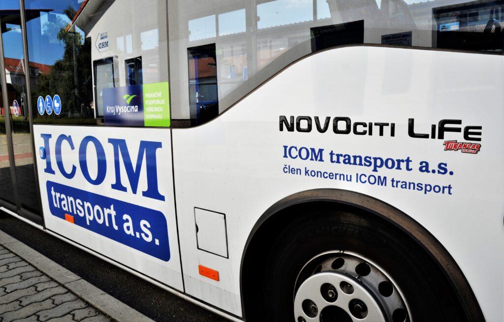 Autobus ISUZU NovoCiti Life, novinka MHD v Pelhřimově (foto: Zdeněk Nesveda)