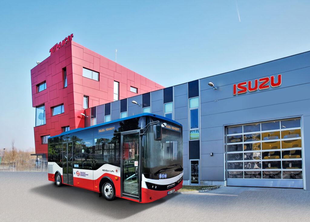 ISUZU NovoCiti Life v provedení pro Pražskou integrovanou dopravu (PID)