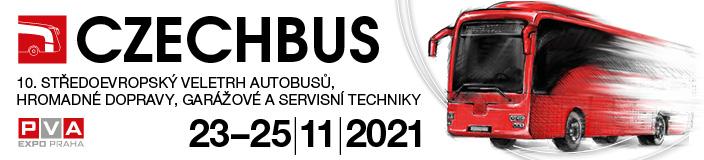 Dopravní veletrh CZECHBUS 2021