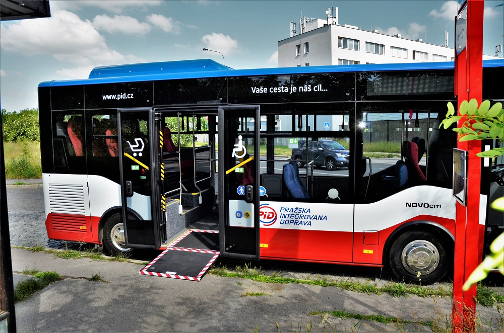 Isuzu NovoCiti Life před zahájením v ostrém provozu v Pražské integrované dopravě (PID) (foto: Zdeněk Nesveda)