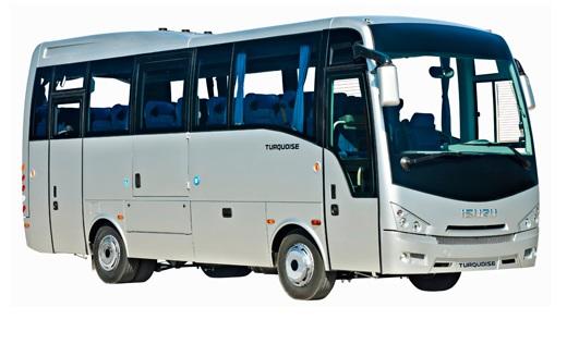 Novinka – Turistický autobus ISUZU s možností přepravy tělesně postižených na vozíku
