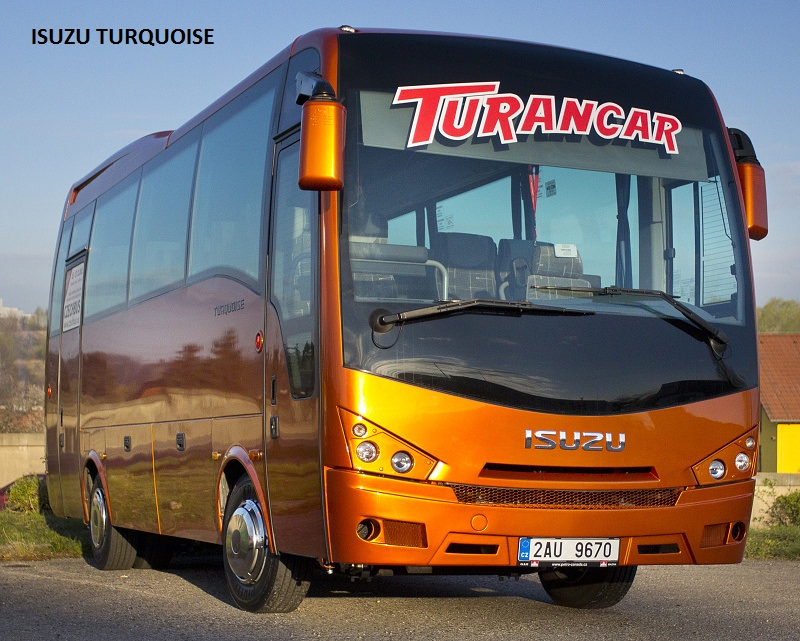 Prodej autobusů Isuzu