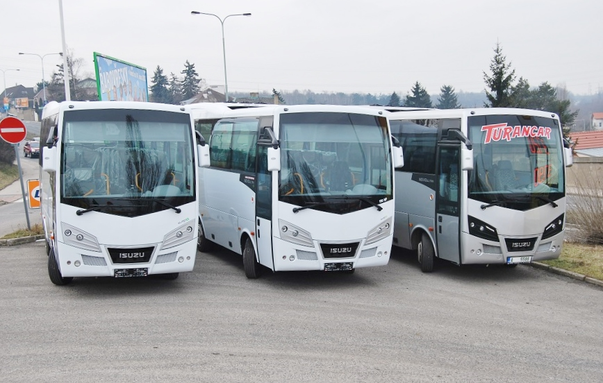 Prodej autobusů ISUZU v ČR roste!