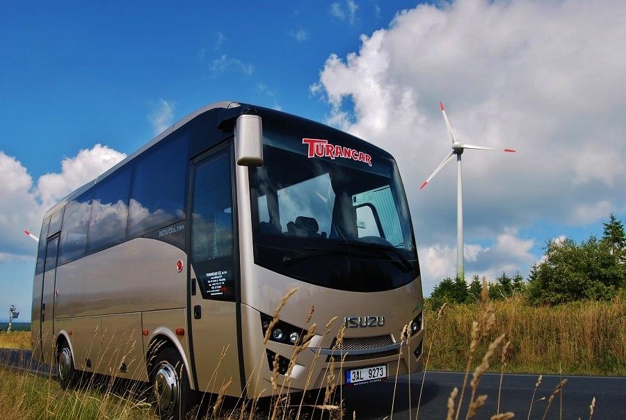 ISUZU  TURANCAR  – Představujeme vám ideální turisticky autobus NEW NOVO Ultra pro 28 osob