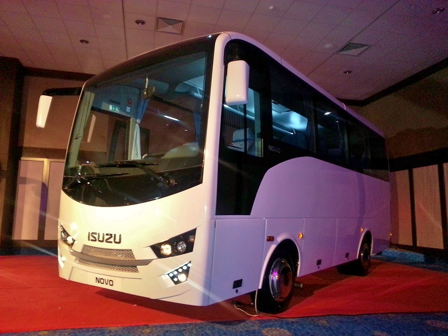 Autobus ISUZU NOVO přes noc úplně změnil tvář!